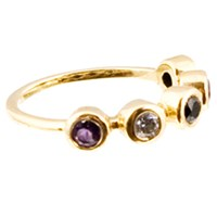 Haathi House Adore Bezel Ring Yellow Gold