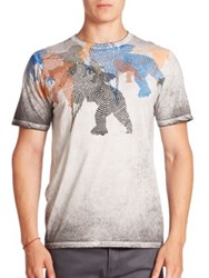 Prps Acid Wash Graphic Print Tee Multi