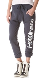 Happiness Sweatpants Washed Black