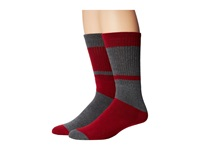 Volcom Tube Stripe Sock Heather Grey Men's Knee High Socks Shoes Gray