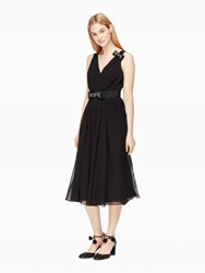 Kate Spade Embellished Bow Dress Black