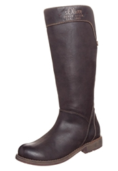 S.Oliver Boots Mocca Brown