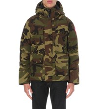 Canada Goose Maitland Down Filled Shell Parka Classic Camo
