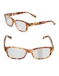 Corinne Mccormack Jess 52Mm Tortoise Shell Reading Glasses Pink