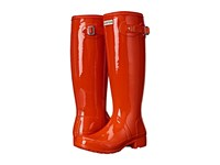 Hunter Original Tour Gloss Tent Red Women's Rain Boots Orange