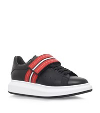 Alexander Mcqueen Studded Strap Oversized Sneakers Male Black