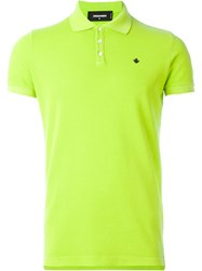 Dsquared2 Classic Polo Shirt Green
