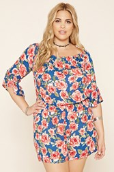 Forever 21 Plus Size Floral Romper