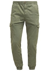 Petrol Industries Cargo Trousers Riffle Green Oliv