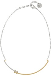 Gemma Redux Gold And Rhodium Plated Necklace