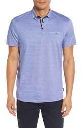 Ted Baker Men's London Extra Trim Fit Polo