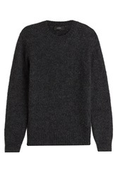 Joseph Knit Pullover With Wool Black