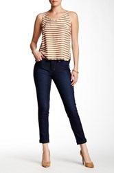 Jag Jeans Erin Cuffed Slim Ankle Jean Blue