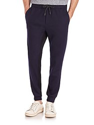 Rag And Bone Alpha Two Tone Wool Track Pants Salute