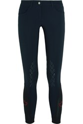 Cavalleria Toscana Stretch Jersey Jodhpurs Midnight Blue