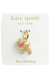 Women's Kate Spade New York 'How Charming' Novelty Charm Multi Dog Charm
