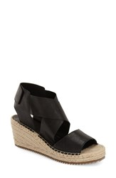 Women's Eileen Fisher 'Willow' Espadrille Wedge Sandal 2 3 4' Heel