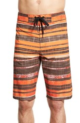 Men's Prana 'Sediment' Stretch Board Shorts Cayenne