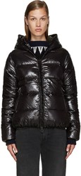 Duvetica Black Quilted Down Jacket