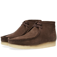 Clarks Originals Wallabee Boot Dark Brown Suede