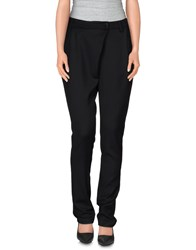 Silent Damir Doma Trousers Casual Trousers Women Black