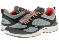 Ecco Sport Biom Ultra Sport Dark Shadow Ice Flower Coral Women's Walking Shoes Gray