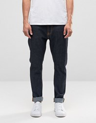 Nudie Jeans Brute Knut Drop Crotch Extreme Tapered Dry Navy Dry Navy Blue