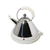 Alessi Electric Bird Kettle White