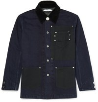Givenchy Patchwork Denim Jacket Blue