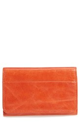 Hobo Women's 'Jill' Trifold Wallet Red Grenadine