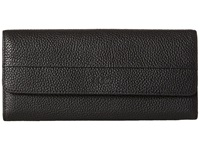 Ecco Sp Continental Wallet Black Wallet Handbags