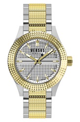 Versus By Versace 'Bayside' Bracelet Watch 42Mm Silver Gold