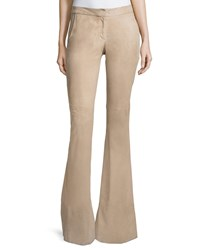 Alexis Rania Suede Flare Pants Clay Size M