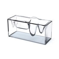 Lexon Liquid Station Desktop Organiser Crystal