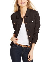 Charter Club Denim Jacket Only At Macy's Rich Truffle