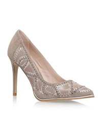 Kg By Kurt Geiger Bindy Court Shoes Female Taupe
