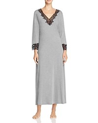 Natori Lhasa Lounger Long Gown Heather Gray
