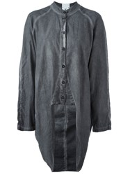 Lost And Found Rooms Long Shirt Grey