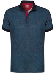 Wolsey Plain Polo Regular Fit Polo Shirt Total Eclipse