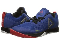 Reebok Crossfit Nano 6.0 Team Dark Royal Black White Riot Red Pewter Men's Cross Training Shoes Blue