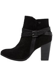 Tom Tailor Ankle Boots Black