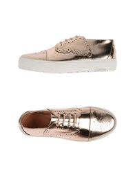 F Troupe Footwear Lace Up Shoes Women Copper