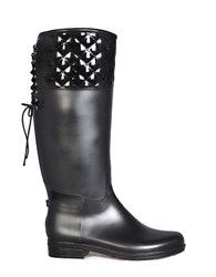 Dav Victoria Knee High Boots Black