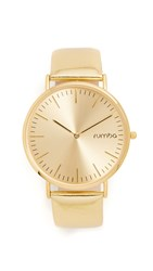 Rumbatime Soho Metallic Watch Gold