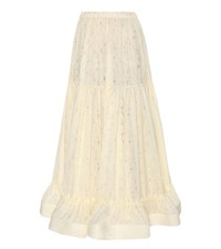 Stella Mccartney Maxi Skirt White