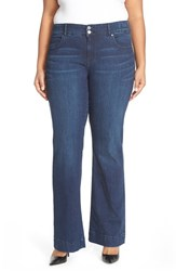 Plus Size Women's Cj By Cookie Johnson 'Foundation' Stretch Flare Leg Jeans