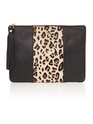 Biba Pouch Leopard Print And Blac Leopard Print And Blac