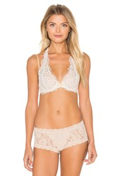 Free People Behind Your Eyes Underwire Bra White
