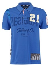 Desigual Rafa Polo Shirt Blue