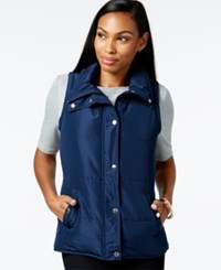 Styleandco. Style And Co. Sport Sleeveless Vest Only At Macy's Industrial Blue